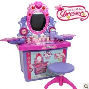 Fashion-storage-box-dresser-child-music-vanity-mirror-toy-limited-edition-abs-High-quality-font-b