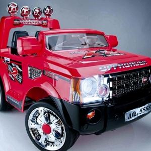 jeep rojo